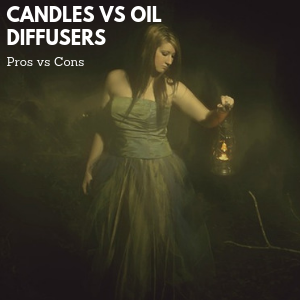 Candle vs Oil Diffuser